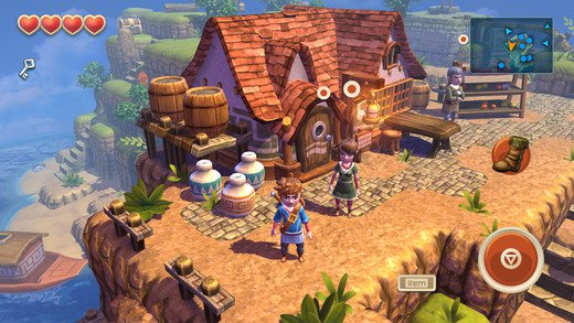 Oceanhorn: the Monster of Uncharted Seas - скриншот 1