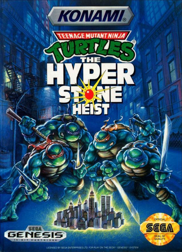 Teenage Mutant Hero Turtles: the Hyperstone