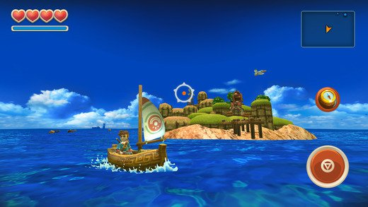 Oceanhorn: the Monster of Uncharted Seas - скриншот 2