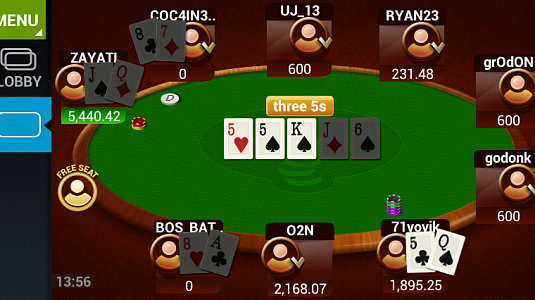 Mobile Poker Club - скриншот 3