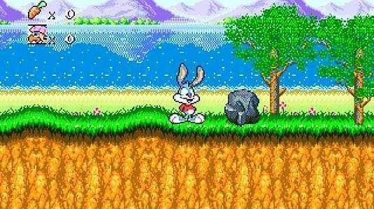 Tiny Toon Adventures: Buster's hidden treasure - скриншот 2