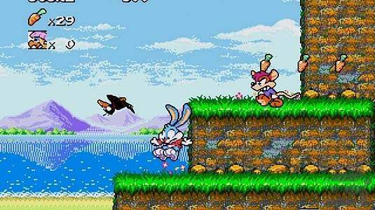 Tiny Toon Adventures: Buster's hidden treasure - скриншот 1