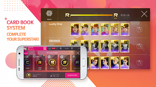 SuperStar SMTOWN - скриншот 5
