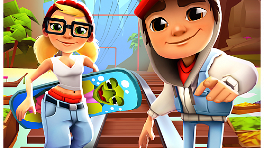 Subway Surfers - скриншот 1