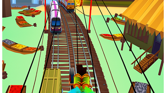 Subway Surfers - скриншот 4