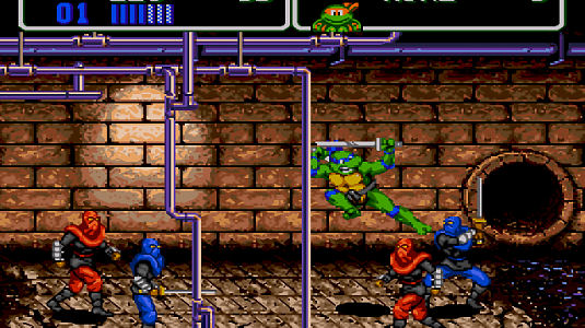 Teenage Mutant Hero Turtles: the Hyperstone - скриншот 4